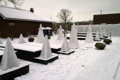 Зимнее укрытие растений